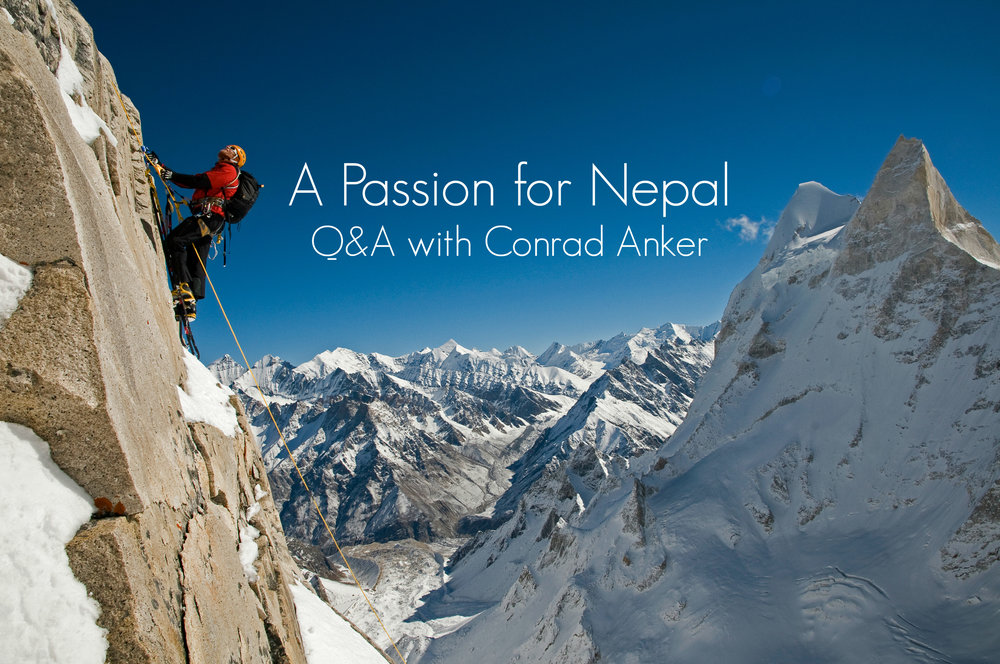 Conrad Anker on Meru