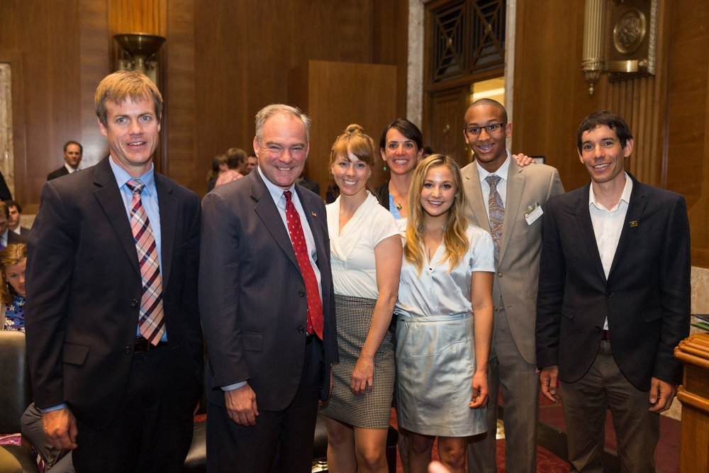 Some members of the lobbying team. Stephen Gosling photo.