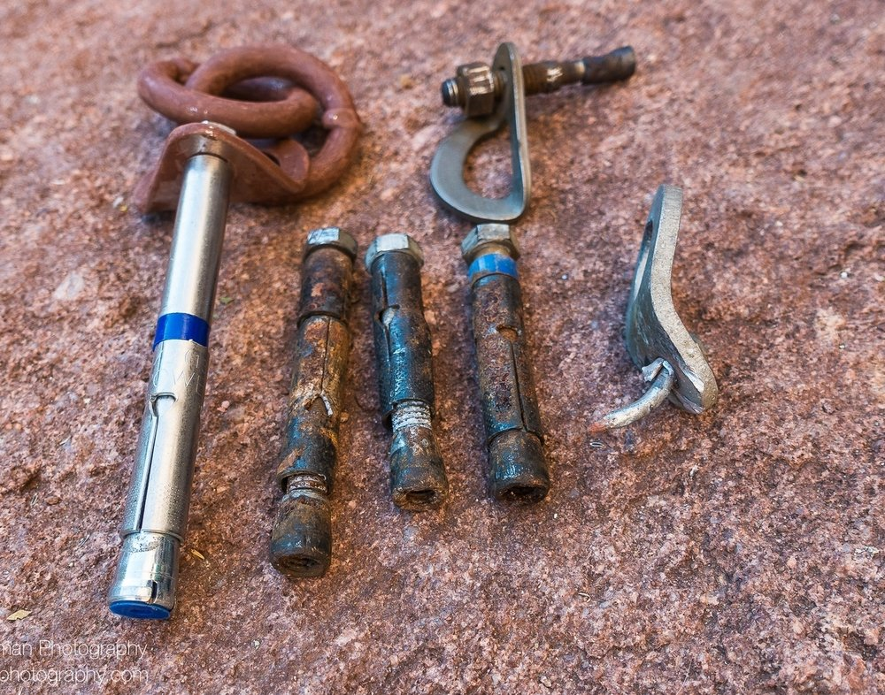 Fixed Anchors - A sensible fixed anchor policy can help manage the climbing experience, enhance safety, reduce the need for land management restrictions and provide outstanding recreational opportunities.We are working closely with the Access Fund and the D.O. #41 Coalition to create national guidance for land managers of Wilderness areas that makes clear that climbing is an appropriate activity and that fixed anchors are necessary tools for climbing.See our fixed anchor policy here.
