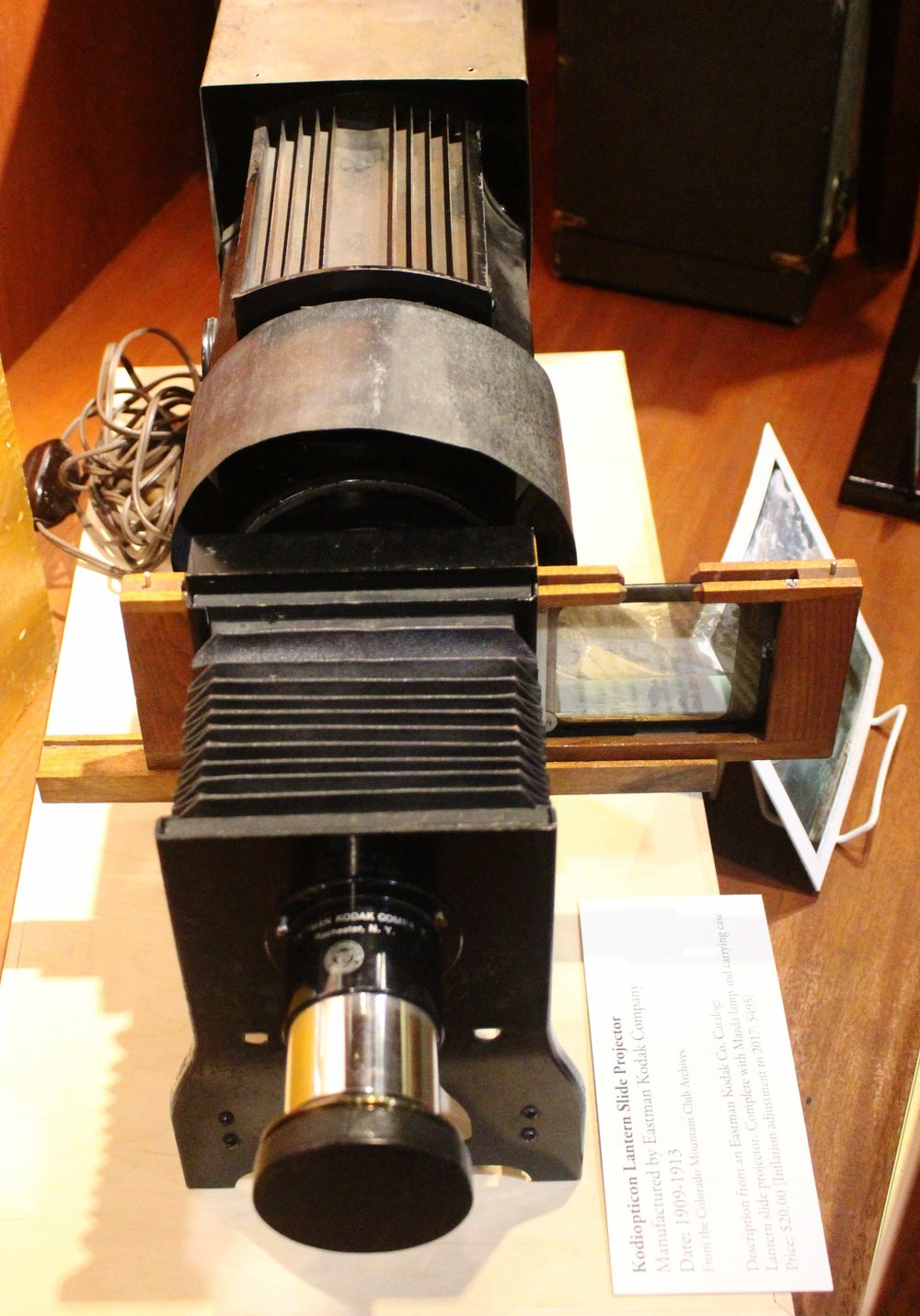 Kodiopticon Lantern Slide Projector