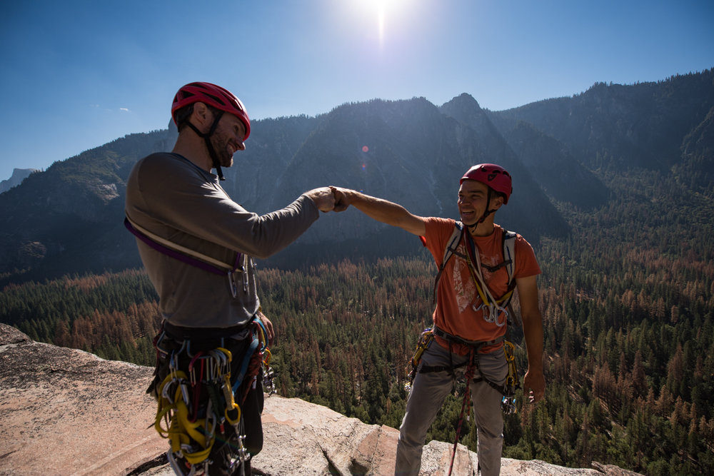 This climbing instructor is motivated by climbing, community, and kinship.  So, he seeks to eliminate his informational advantage by empowering his student.  His student will soon be his climbing partner, not his client.