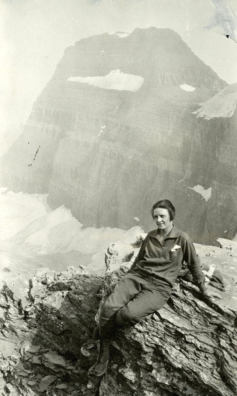 Mary Cronin on a CMC trip in the 1920s