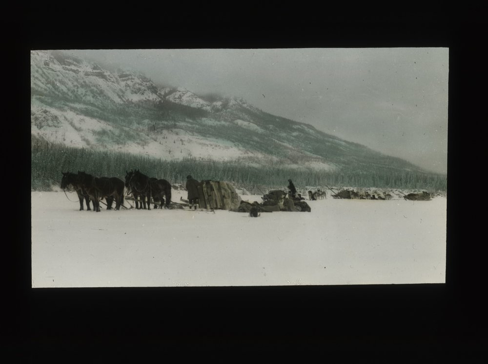 Mount Logan Advance Party, February 1925