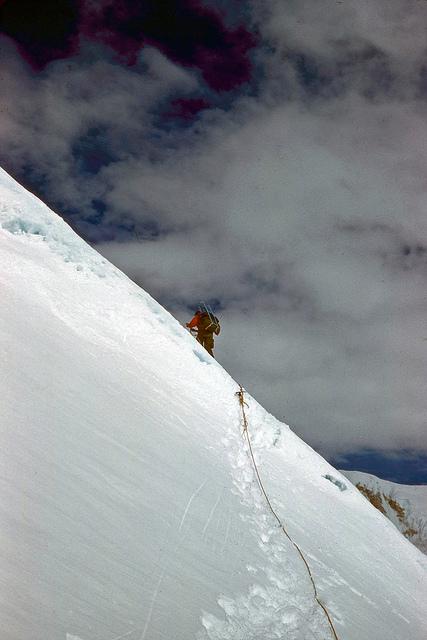 Climbing past the Bumps.