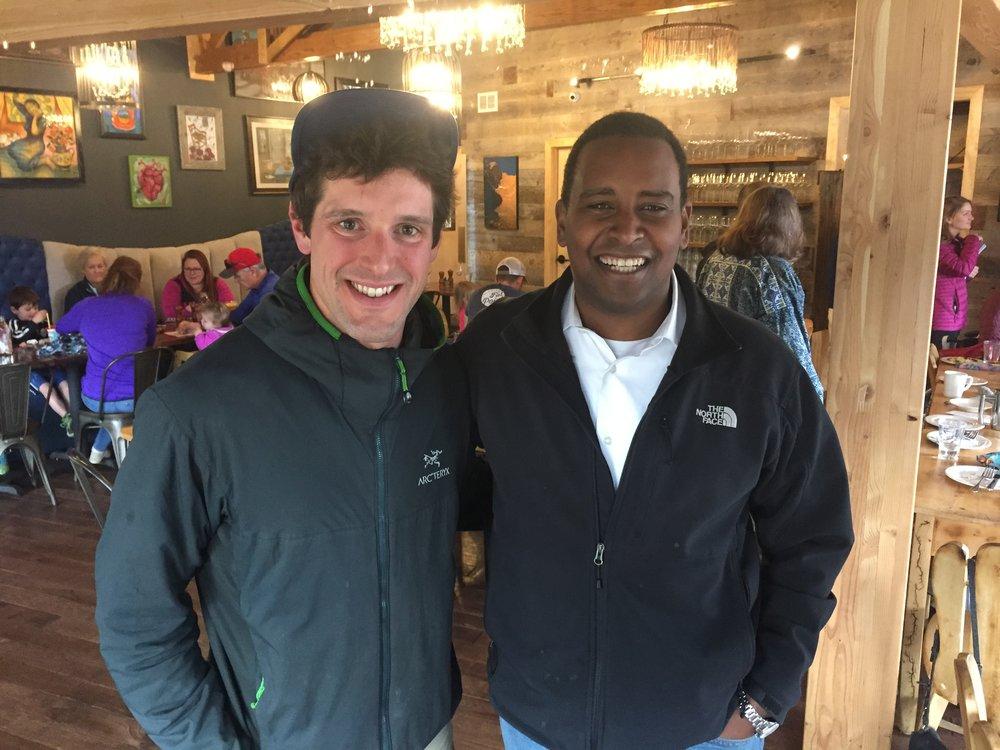 Myself with Congressman Neguse