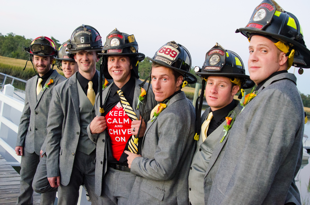 charleston groomsmen wedding photographer firemen firefighter photography.jpg