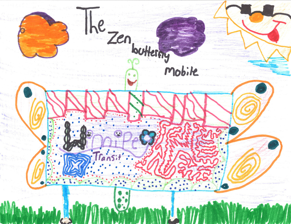 ENTRY #180:The Zen Butterfly Mobile by Anya