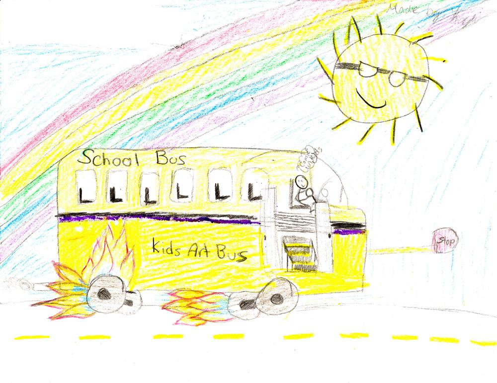 ENTRY #37: Kids Art Busby Kayli
