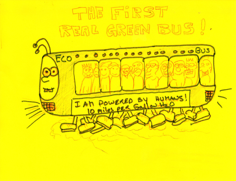 ENTRY #62:The Human Powered Eco Bus by Leo