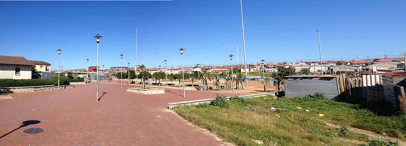 Violence Prevention through Urban Upgrading project in Khayelitsha (Source:  Julian Ruxworthy, Flickr )