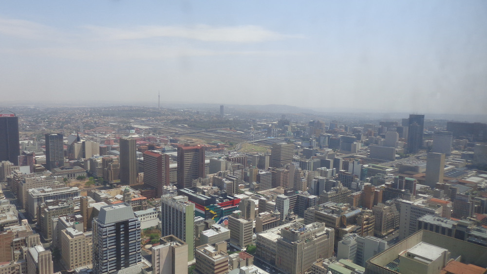 Johannesburg skyline. Source: Rckr88 Flickr stream (CC)