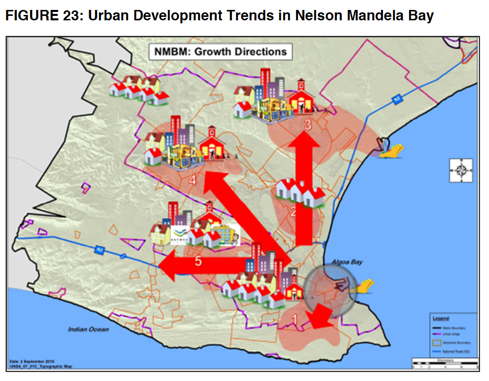 Credit: Growth directions in Nelson Mandela Bay, BEPP 2016/17