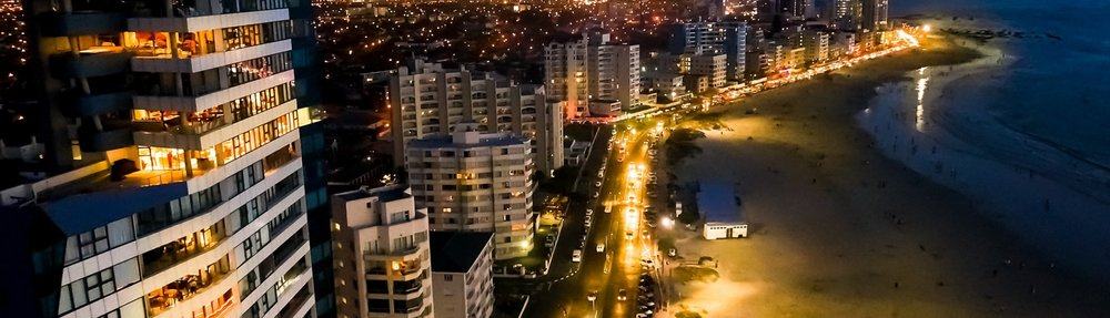 Strand Promenade at night. Photo credit: Strand BID