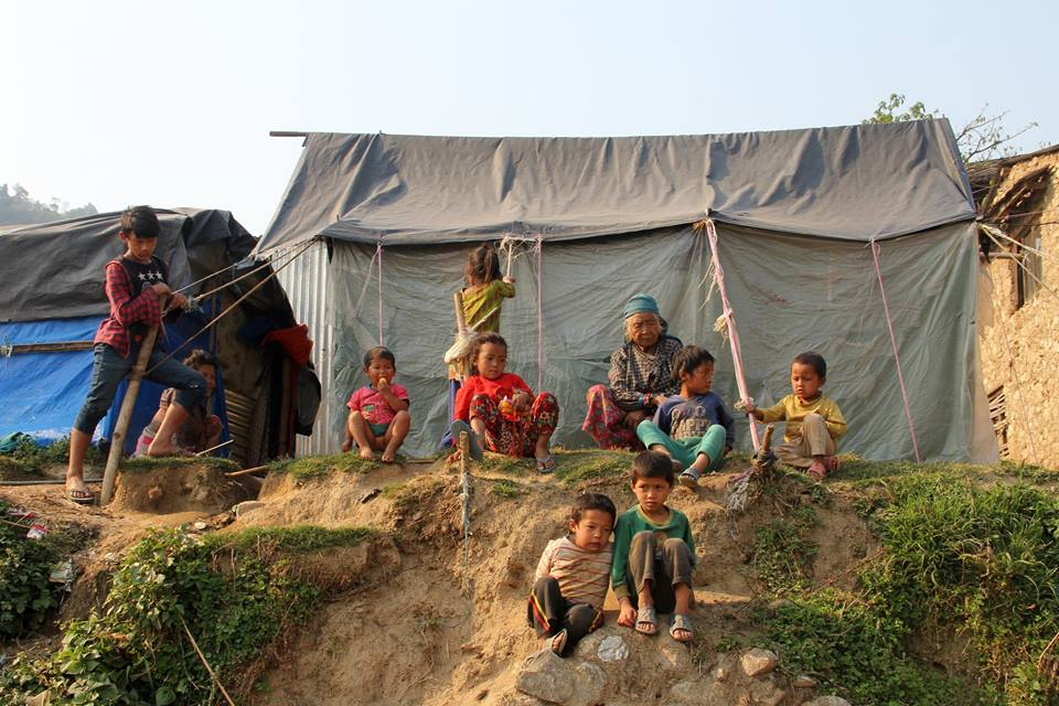 Villagers in Kaule, where Good Earth Nepal will be working with Carisimo