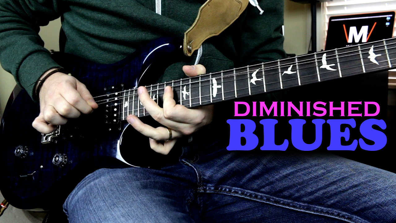 Diminished Licks Over Blues Chords Music Is Win