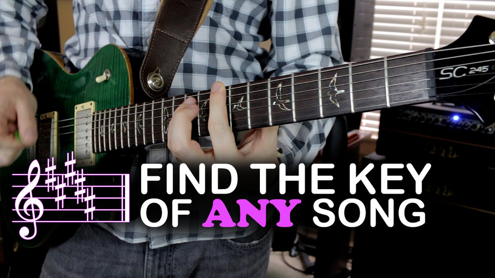 Find the Key of Any Song — Music is Win