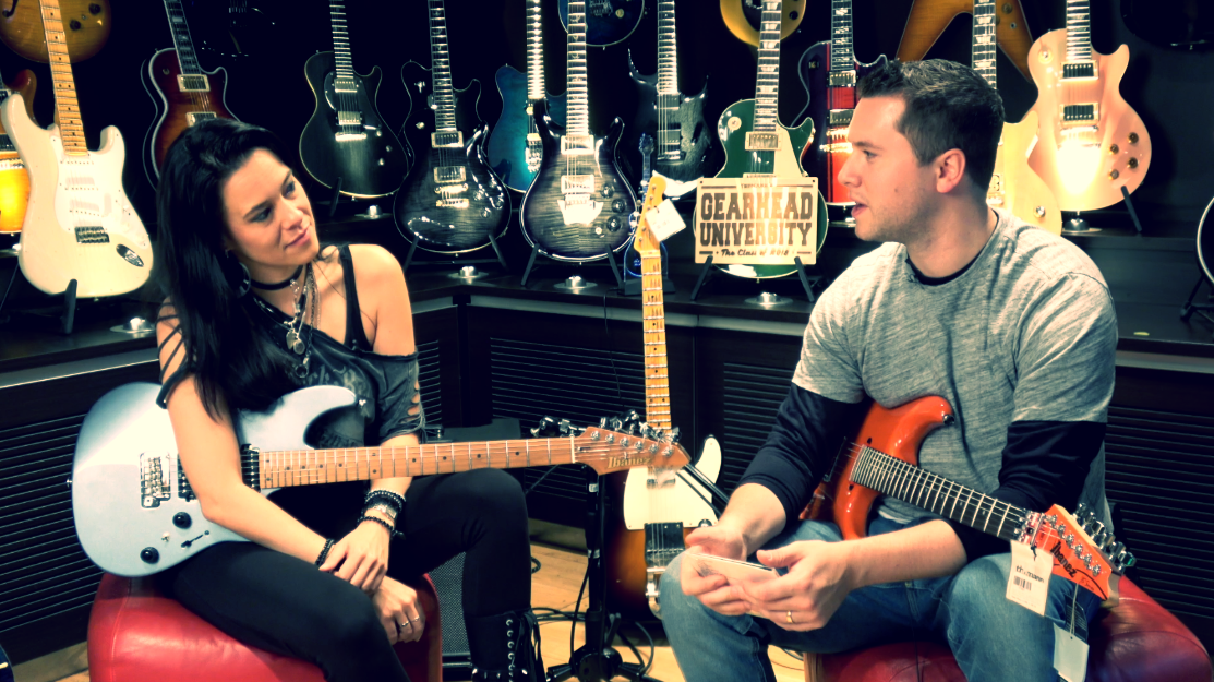 Jen Majura Evanescence Guitarist Badass Human Music Is Win