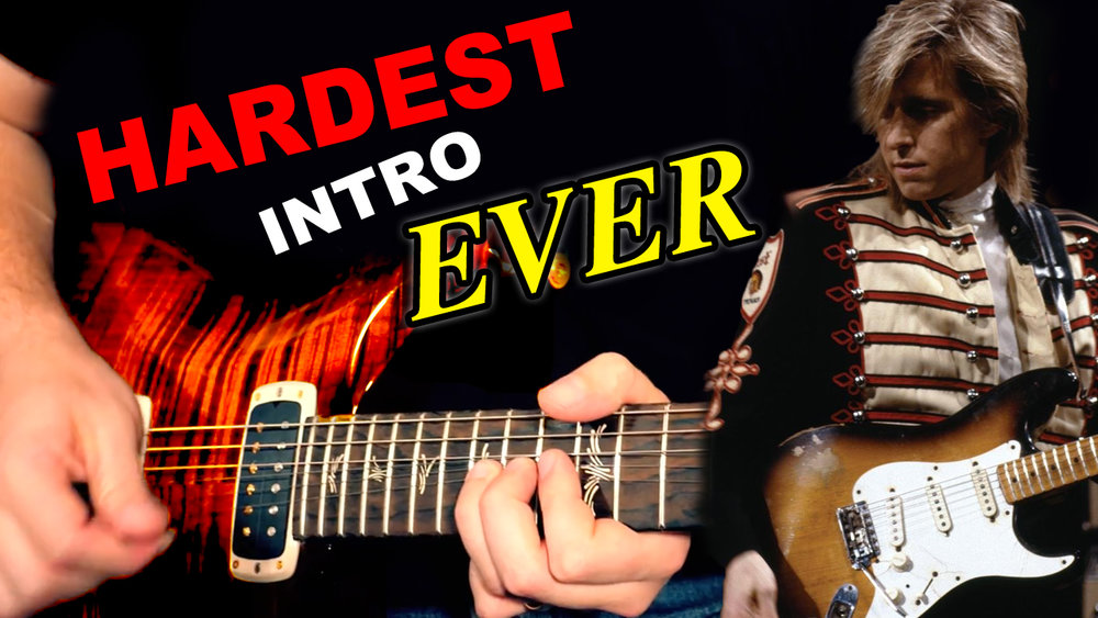 Learning The Hardest Guitar Intro Ever Music Is Win