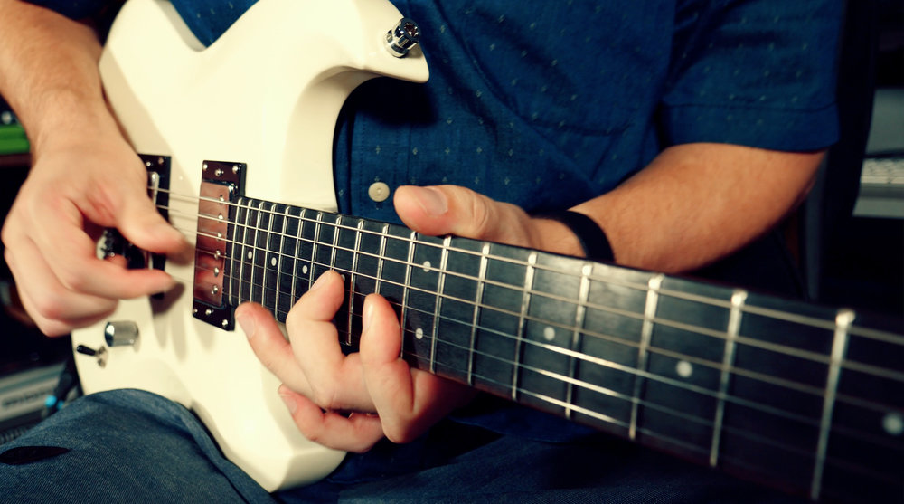 BYZANTINE SCALE - The Byzantine Scale is the poster child for weird fingerings and weird position shapes. The cool thing about it is once you get some of these shapes down, it really influences how you use the scale because of the way the shapes are laid out and how they fall under your fingers on the fretboard.