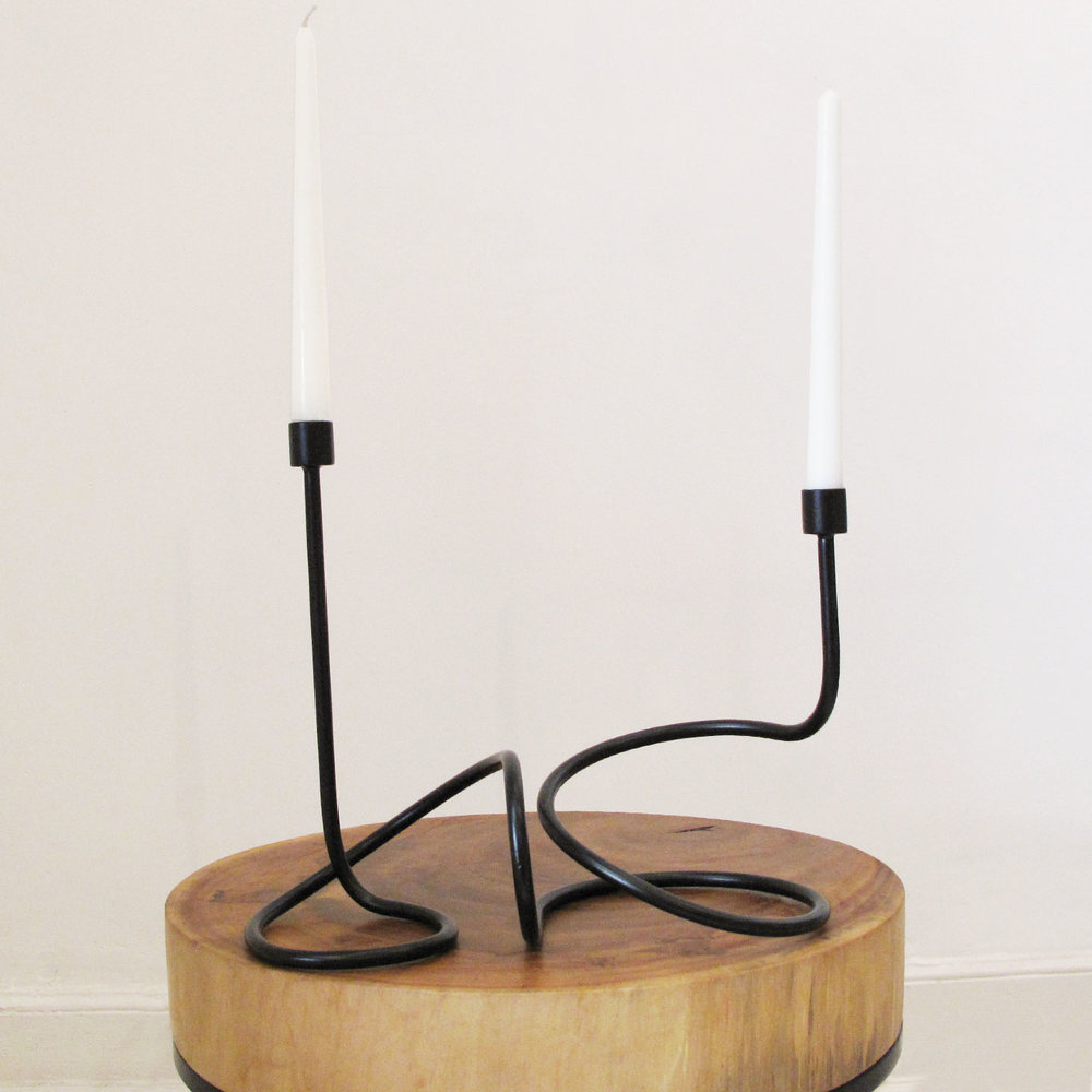 candelabro loop doble