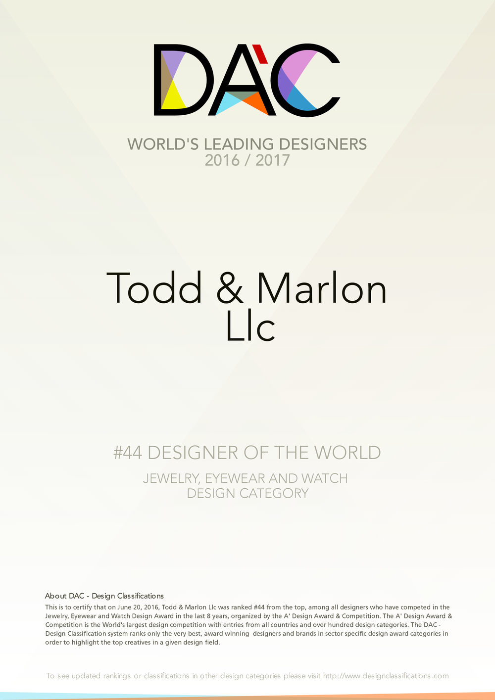 Todd & Marlon #44 Designer of the world