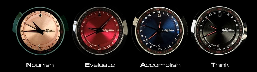 Todd & Marlon #YOURTIME collection dials