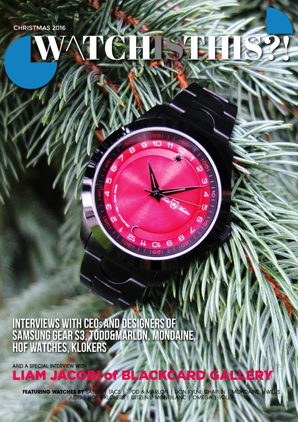 WatchIsThis Dec 2016 - cover