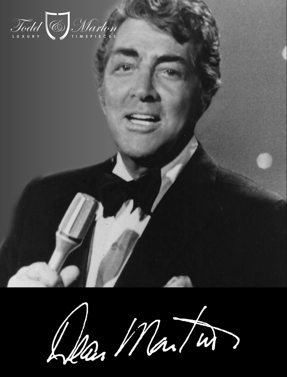 "Dean Martin is one of the most popular entertainers of all time. Dubbed the ""King of Cool"" for his seemingly effortless charm and style, he epitomizes the debonair lifestyle. As a recording artist, actor and comedian, he sets the standard for what it means to be a true entertainer and a Hollywood triple threat."