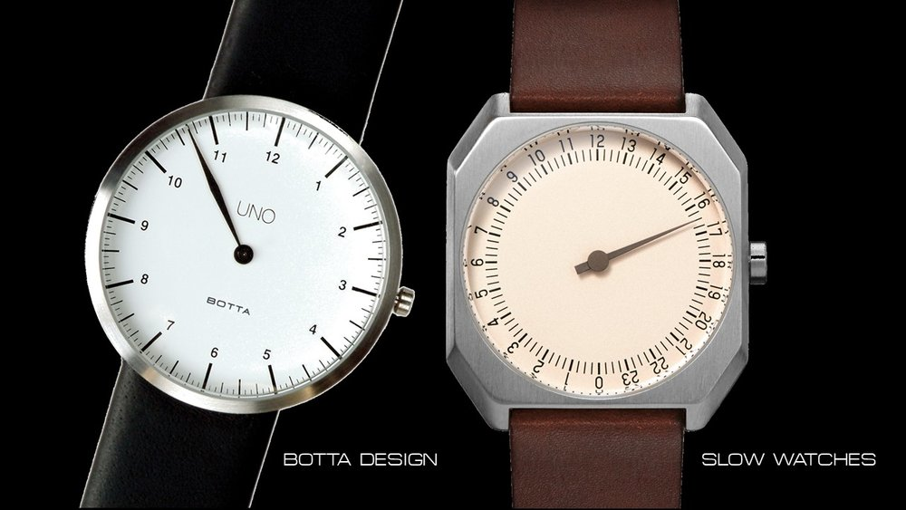 Botta Design Slow Watches