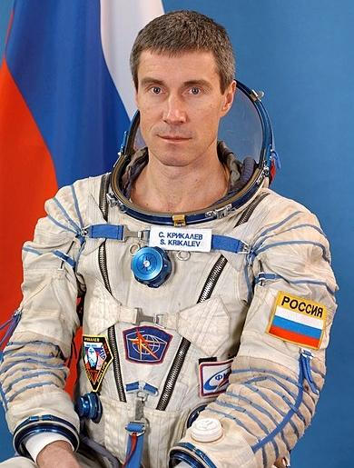 Sergei Krikalev Cosmonaut