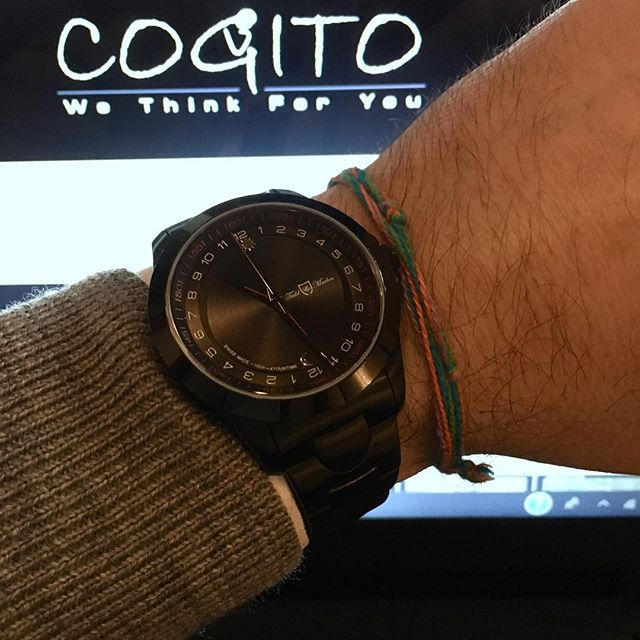 Time to think! Who is thinking for you? . #watches #watch #timepiece #think #24hours #cogito