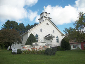 Our lady of fatima, Craftsbury Mass: Saturday Mass: 6 pm  in Summertime.& Christmas Eve.
