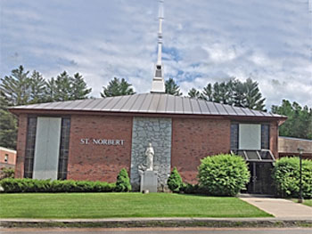 St. Norbert, Hardwick   Saturday  Mass 4 PM; Sunday Mass 8:30 AM