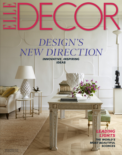 Elle Decor - USA - 09/16