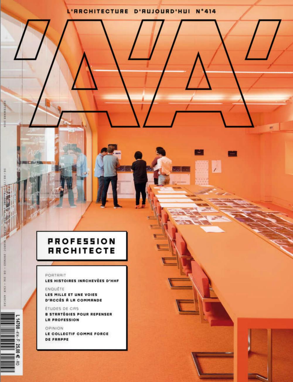 Architecture  d'Aujourd'hui - France - 09/16