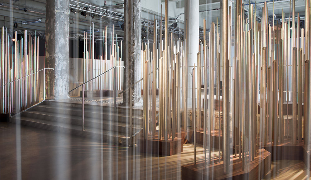 """Between Now & Then"", a sound sculpture by Sébastien Léon"