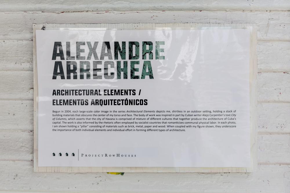Alexandre Arrechea, Architectural Elements / Elementos Arquitectonicos