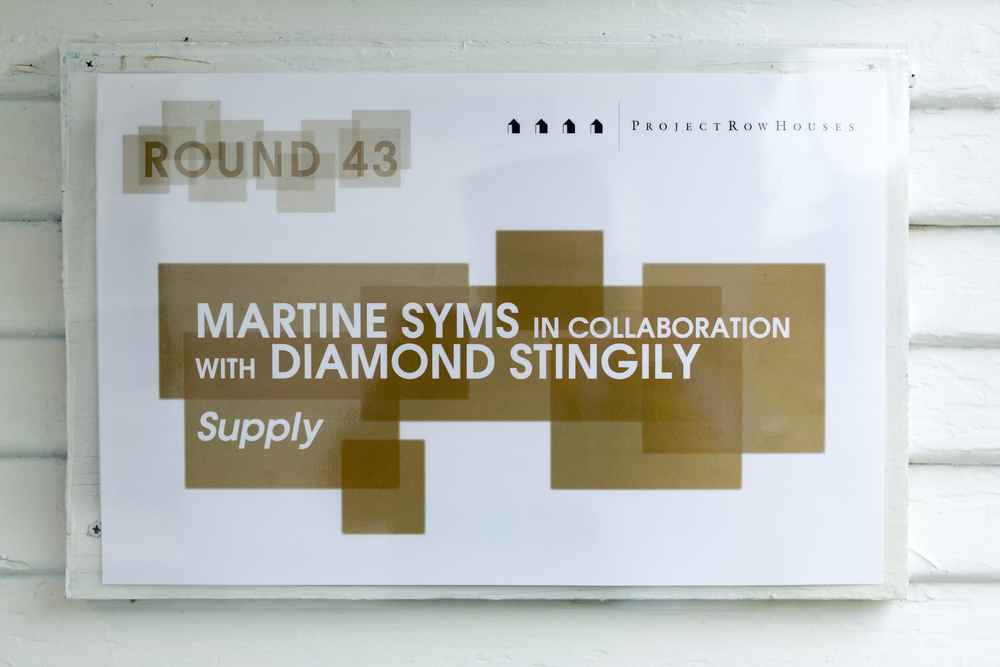 Supply , Martine Syms (in collaboration with Diamond Stingily)  2515 Holman St.