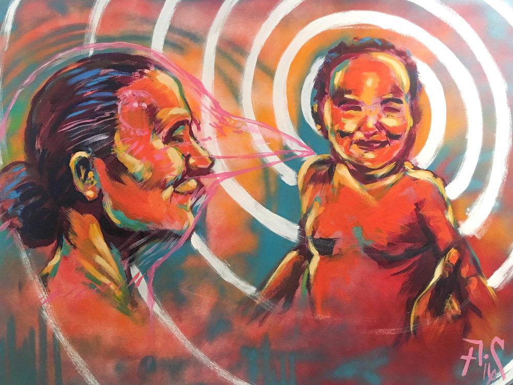 Painting by Armando Castelan
