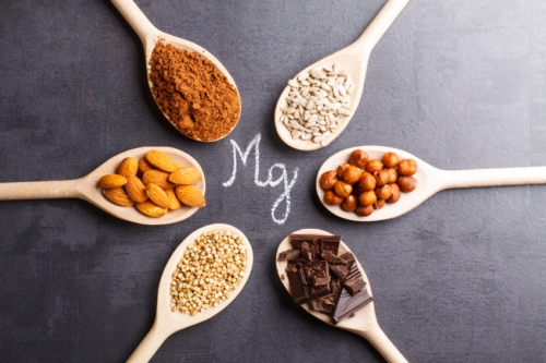 Magnesium and magnesium rich foods. Magnesium can help the blood-brain barrier heal.