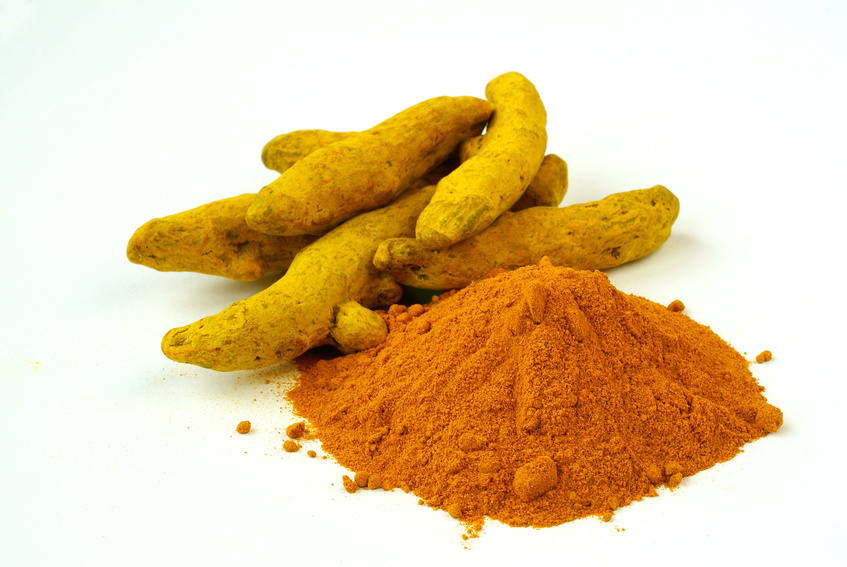 Turmeric spice. Curcumin is a compound in turmeric that can reduce inflammation and support the blood-brain barrier.