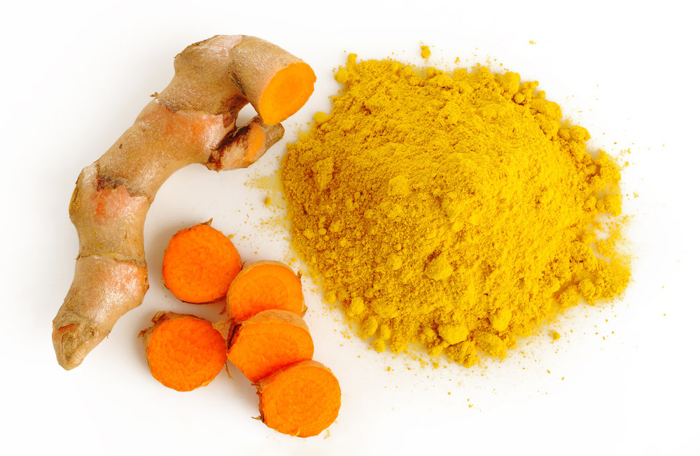 Turmeric powder and whole turmeric. Curcumin, the main beneficial compound in turmeric, can help reduce inflammation. Inflammation is involved in the development of cognitive decline and dementia.