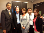 (L-R) Rodrigo Garcia, David Lopez, Sylvia Flores, Edward Avila, Hana Yang