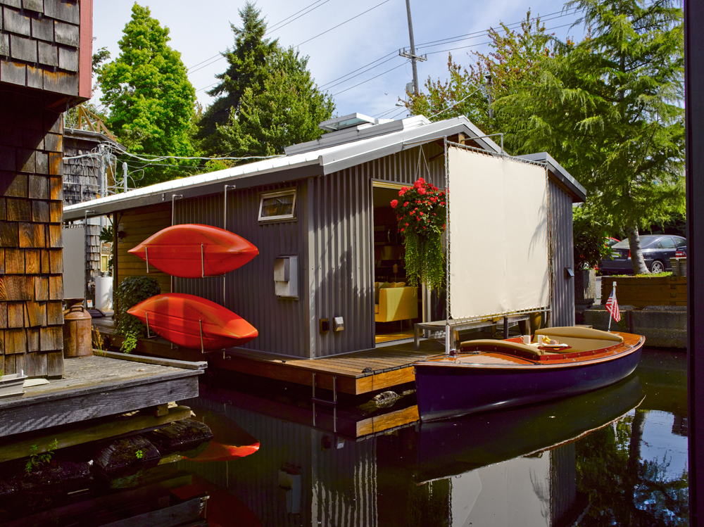 Lake Union Houseboat