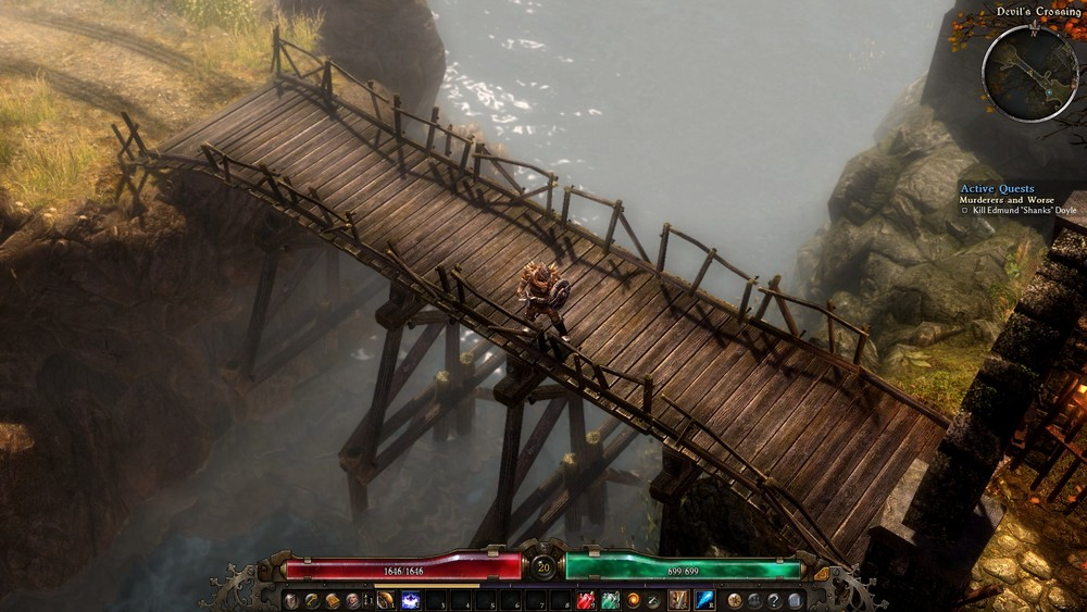 The bridge is done.