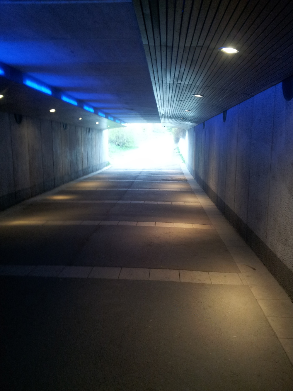Just a tunnel, and some light at the end of it.