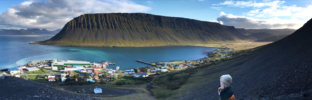 Village of Bildudalur, Iceland