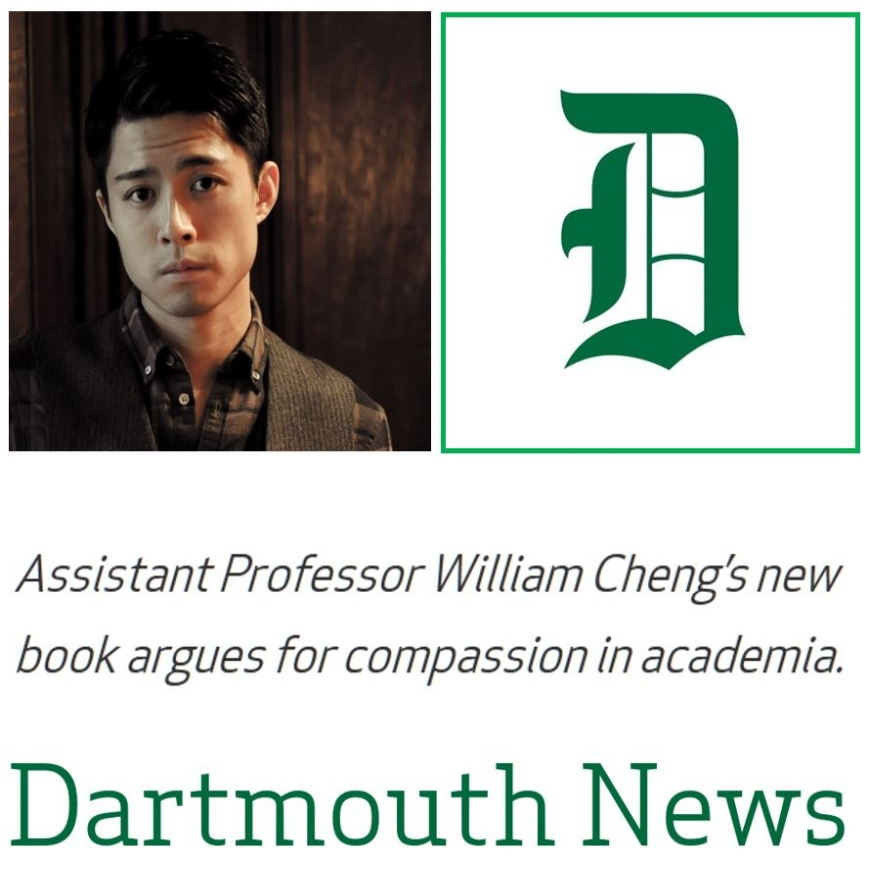 Interview in Dartmouth News