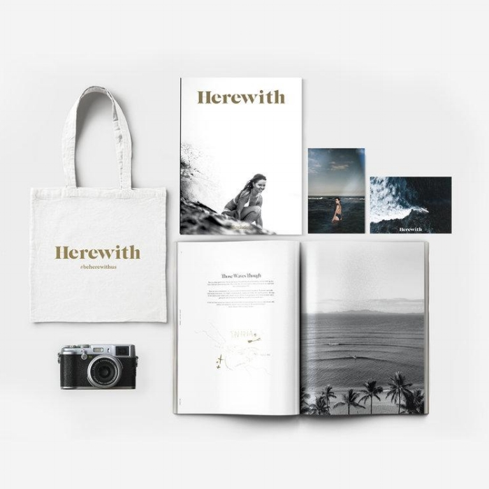 "HEREWITH MAGAZINE ISSUE 004    Contributing writer to HereWith Magazine Issue 004, highlighting a ""Letter to my 17-year-old-self"" and ""Learning how to go alone.""   Read more..."