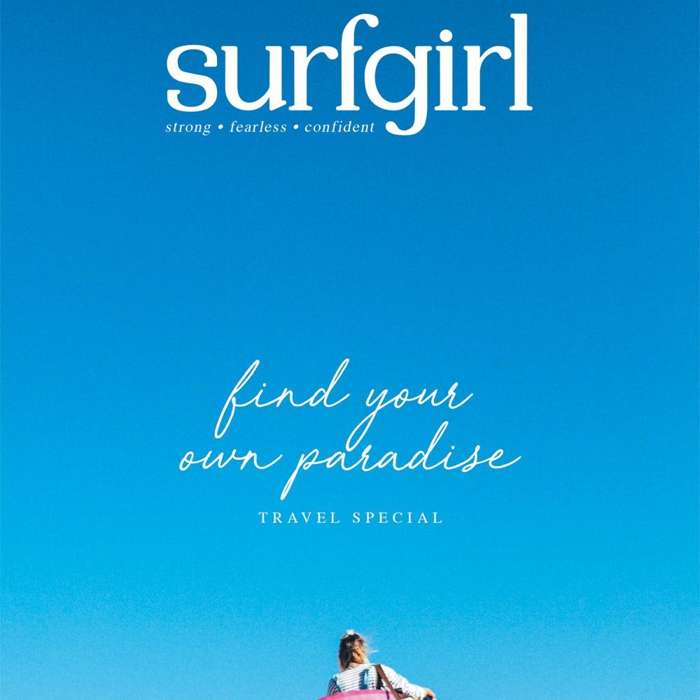 SURFGIRL MAGAZINE   Contributing travel writer.